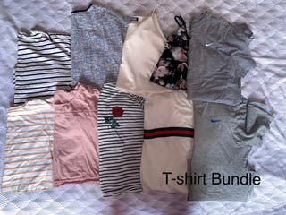 Ladies T-Shirt Bundle Size 10-12