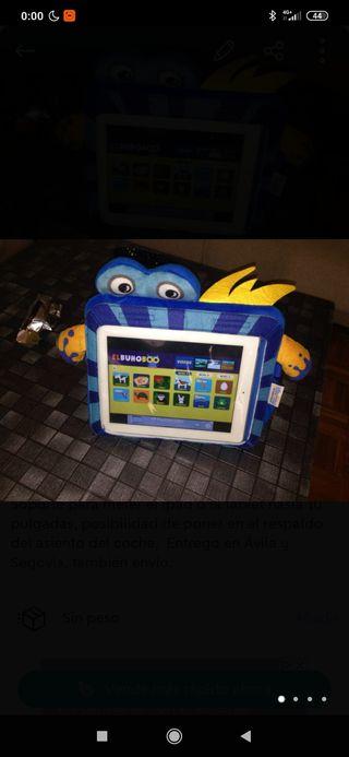Soporte para meter el ipad o la tablet hasta 10 pu