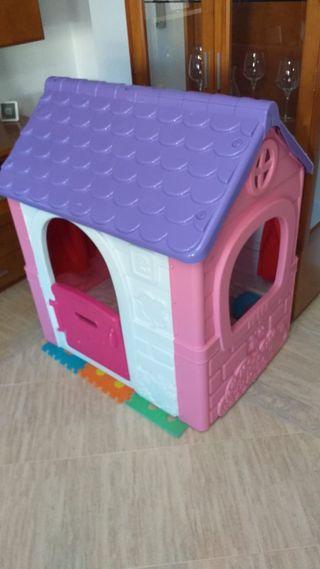 casa de juguetes, niños, niñas