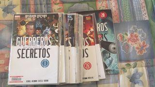 Comics Marvel Guerreros secretos