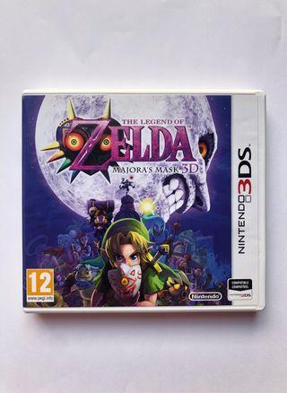 Zelda Majora's Mask de Nintendo 3Ds