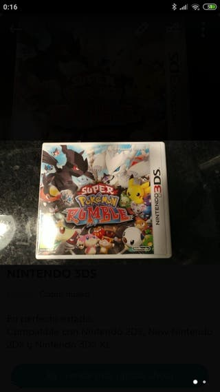 SUPER POKÉMON RUMBLE PARA NINTENDO 3DS