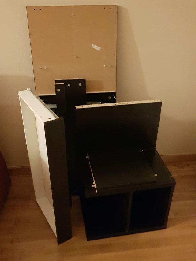 escritorio 120 negro