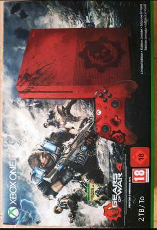Xbox one edición gears of War 4 con juegos