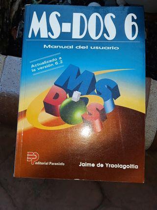 MS_DOS 6 MANUAL USUARIO