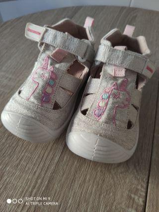 biomecanics sandalias zapatillas 1 uso!