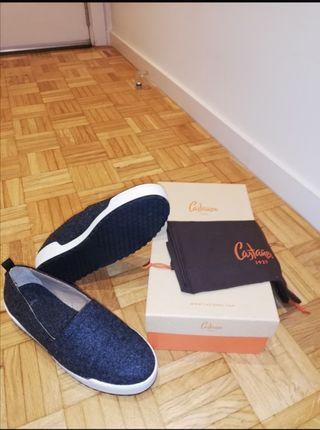 slippers castañer nuevas
