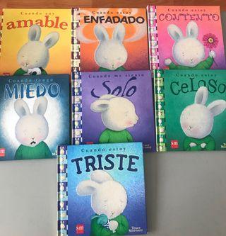 Colección cuentos sentimientos niños