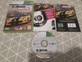juego para Xbox 360 Forza Horizon completo.