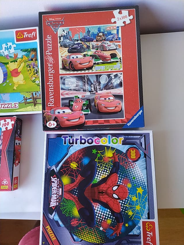 Lote 4 puzzles