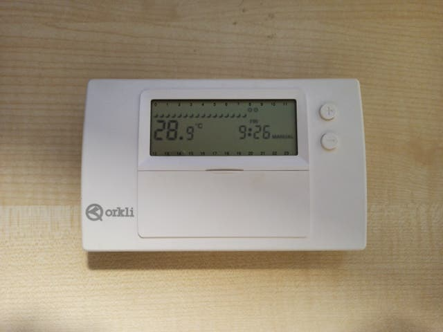 Programador semanal calefacción ON/OFF