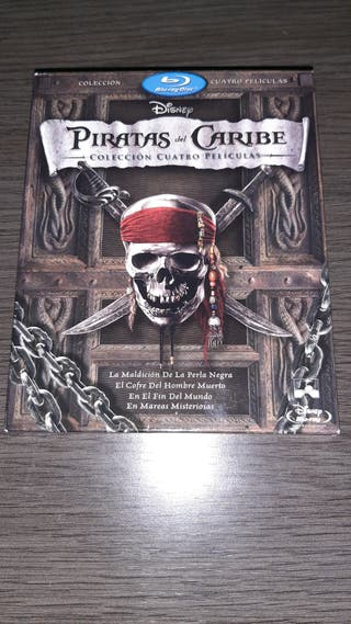 Pack Piratas del Caribe blu-ray