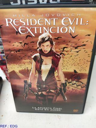 DVD RESIDENT EVIL EXTINCION
