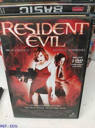 DVD RESIDENT EVIL