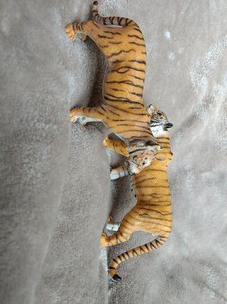 pareja tigres Schleich