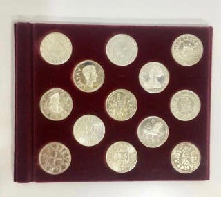 Colección atrás gallegas acuñadas en plata NUEVAS