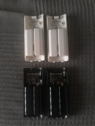 Baterias para mandos Wii