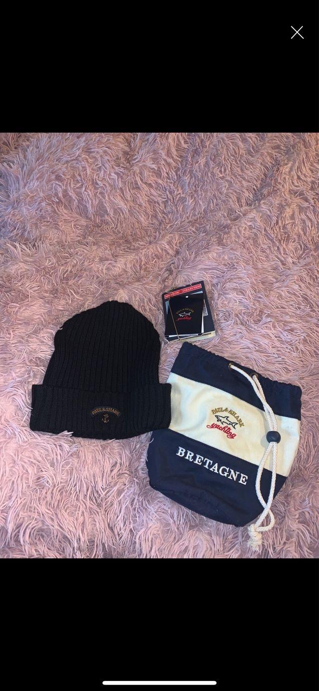 Paul & Shark Beanie Hat - Brand New