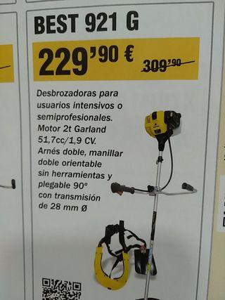 Desbrozadora Garland BEST 921 G