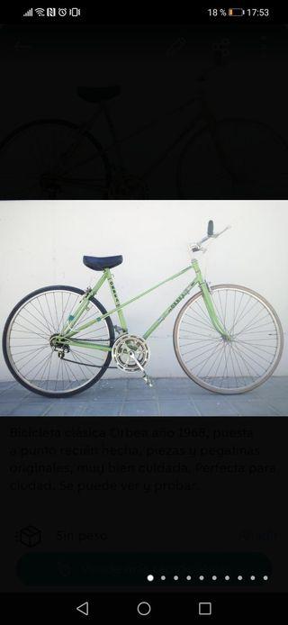 Bicicleta de carretera orbea del 68