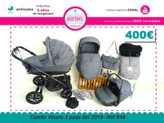 Carrito Vizaro Pearl 3 piezas Ref.649 400,00€