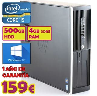 TORRE PC HP INTEL I5 + 500GB HDD + 4GB RAM