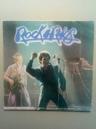 "Rock & Rios. vinilo doble 12""."