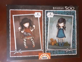 2 puzzles 500 piezas
