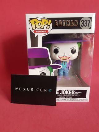Joker con Sombrero Batman 1989 DC Funko Pop