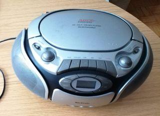 Radio Cassette CD MP3