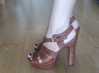 Sandalias piel de Krack