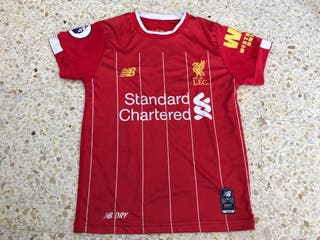 Liverpool camiseta nino