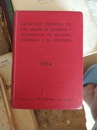 Catálogo Especial de Sellos de España y colonias