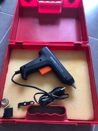 Pistola termoselladora/silicona