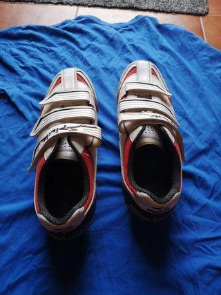 zapatillas ciclismo BTT MTB