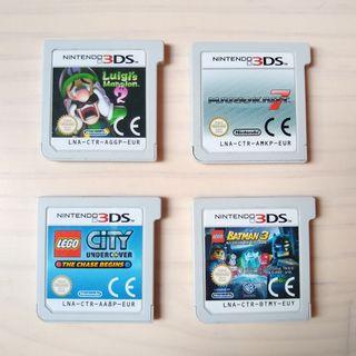 Lote de juegos NINTENDO 3DS