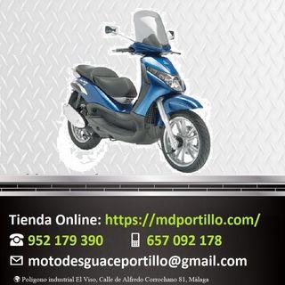 Piezas de moto Piaggio BEVERLY 125 2005-2007