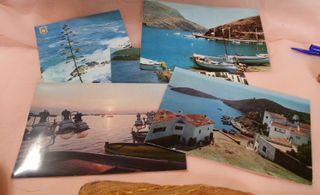 Postales viejas de los años 60. Costa Brava. 5 uds