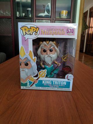 Funko Pop! King Triton 570 Little Mermaid