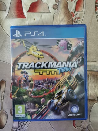 TRAKMANIA TURBO PS4 Intacto