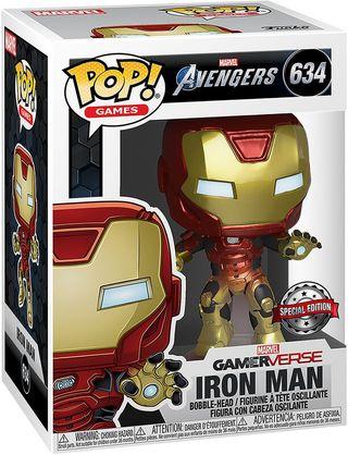 Funko Pop Iron Man Gamerverse 634. Vengadores