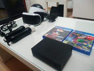 VR Gafas+ 2 Juegos (Mandos y cámara vendidos)