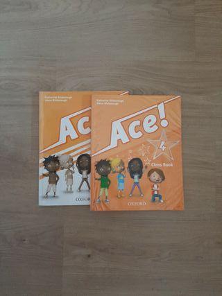 Libros de inglés de cuarto de primaria (ACE)