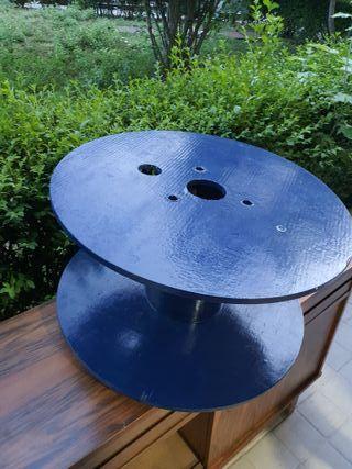 mesa bobina con ruedas ORIGINAL!