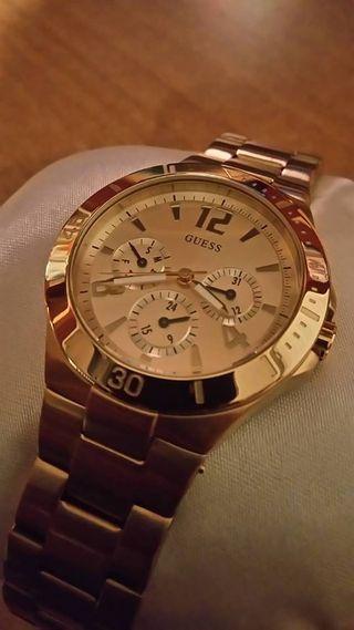 Reloj Guess oro original mujer nuevo