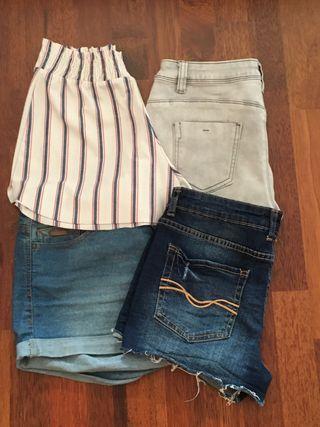 Pack 4 shorts
