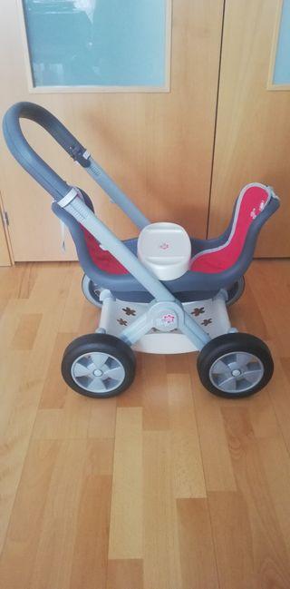 Carro gemelar de juguete EN PERFECTO ESTADO