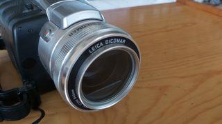 Cámara video Panasonic NV-GS400 con objetivo Leica