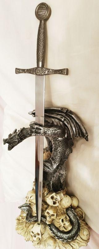 DAGAS CUCHILLOS DE COLECCION SKULL KNIFE