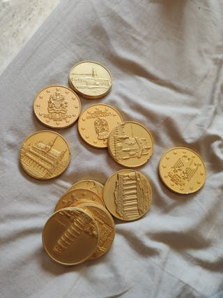 monedas Muy Grandes paises